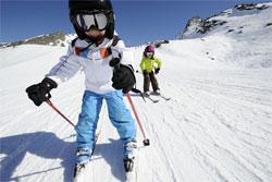 Горные лыжи - детям