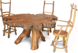 Мебель из сучьев