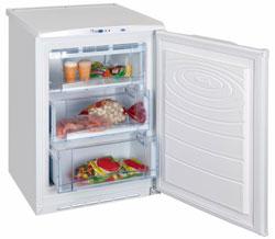 Хранение продуктов в морозильниках