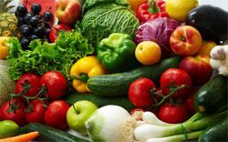 Экологически чистые плоды и овощи