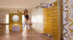 Комната - спортивный зал
