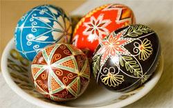 Красное яйцо - символ Пасхи