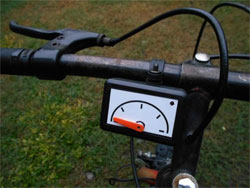 Спидометр на велосипеде