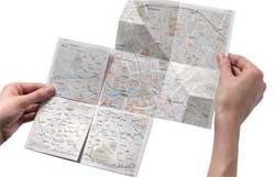 Как лучше складывать географические карты
