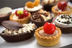 Фруктовые торты и пирожные