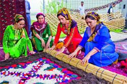 Туркменские ковры