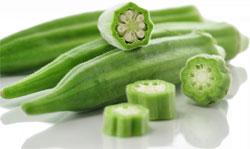 Бамия - деликатесный овощь