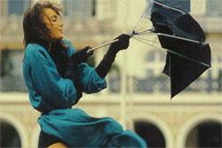 Из старого зонтика