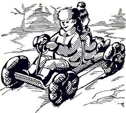 На колесах - по снегу