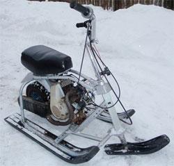 Микромотоцикл на любой сезон