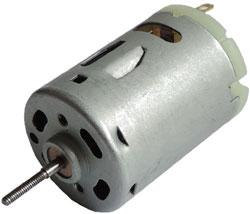 Микродвигатель для модели