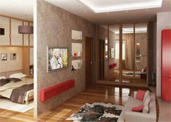 Три комнаты в однокомнатной квартире