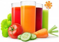 Соки овощные, фруктовые, ягодные