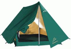 Палатка с тентом