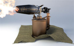 Садовый инструмент - паяльная лампа