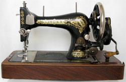 Новая роль старой швейной машины