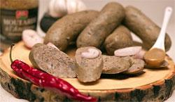 Ливерная копченая колбаса