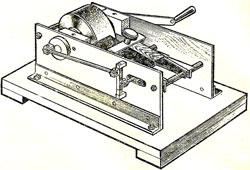 Станок-полуавтомат для заточки столярного инструмента