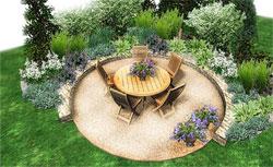 Цветы и кустарники для оформления зоны отдыха на даче