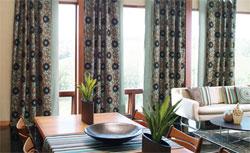 Готовые шторы для загородного дома