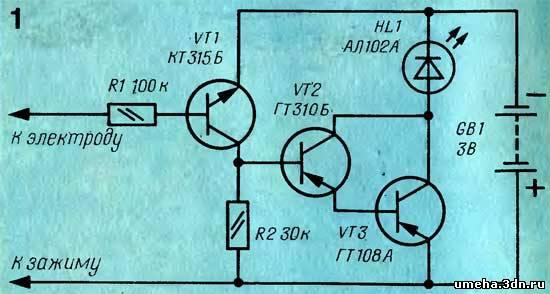 все транзисторы закрыты,