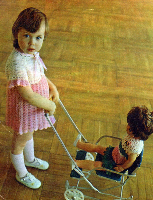 Майки детям крючком вязаные