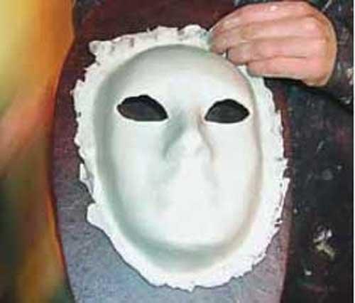 Вот такой получилась маска