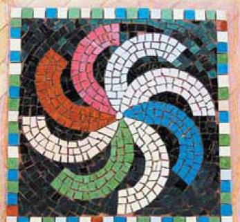 Основанием для этой мозаики размером
