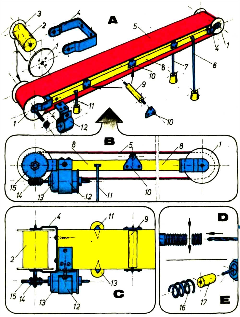 Как сделать конвейерную ленту своими руками 85