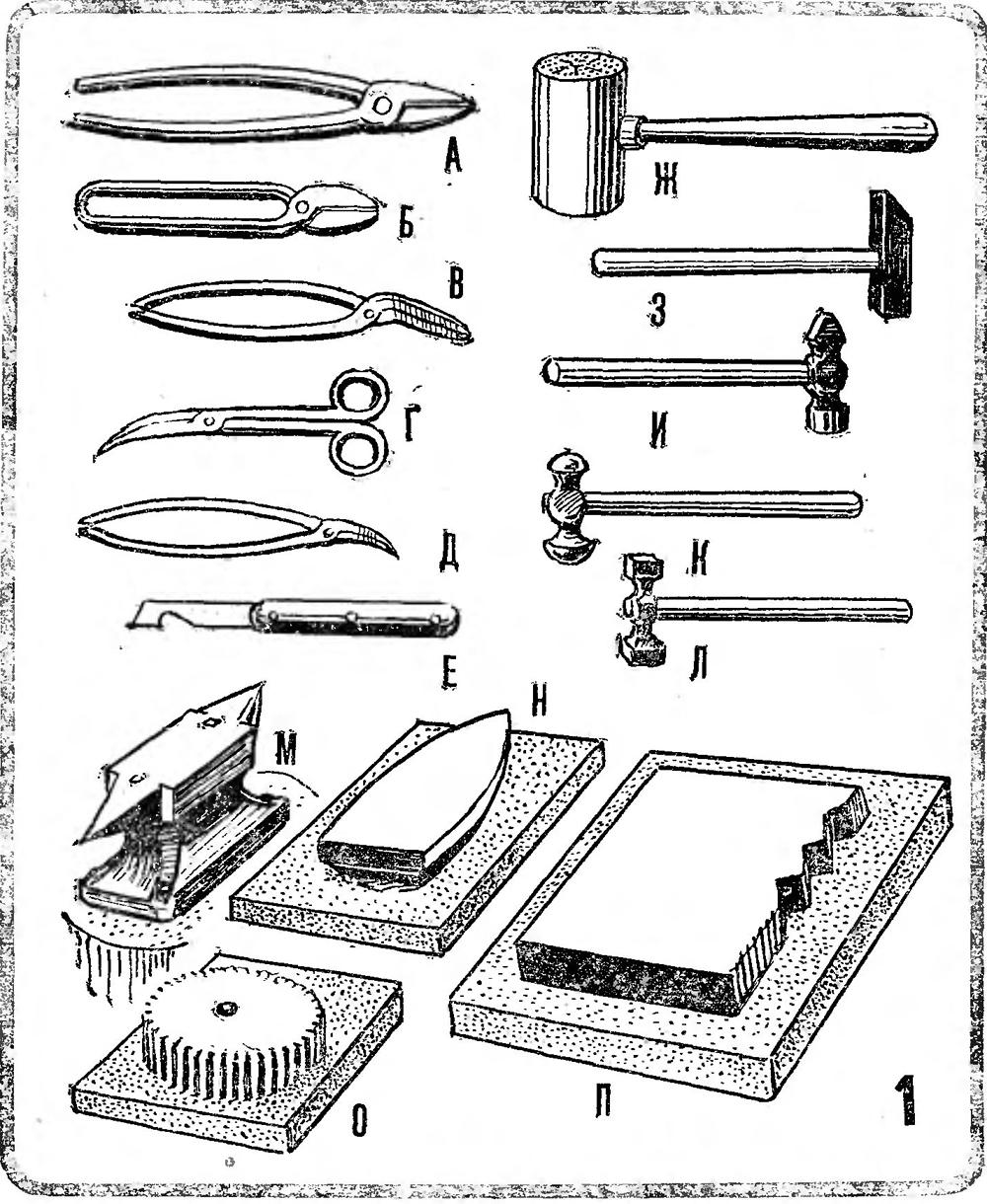 Инструменты жестянщика - Самоделки, поделки и полезные 122