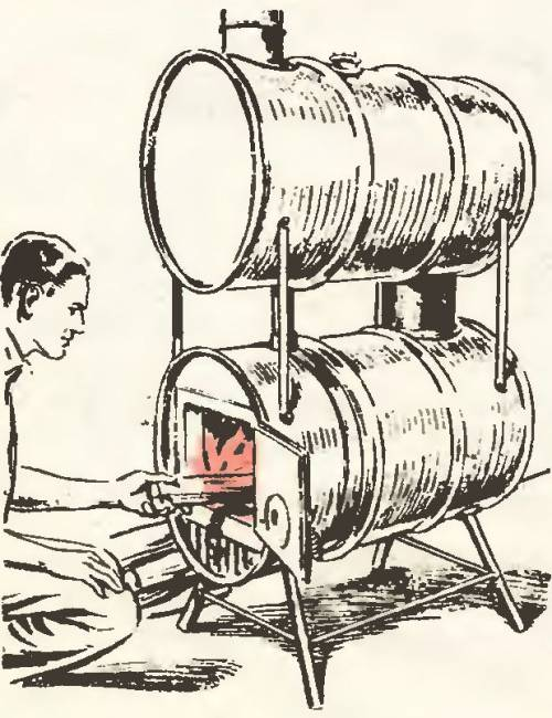 Как сделать из железа бочку