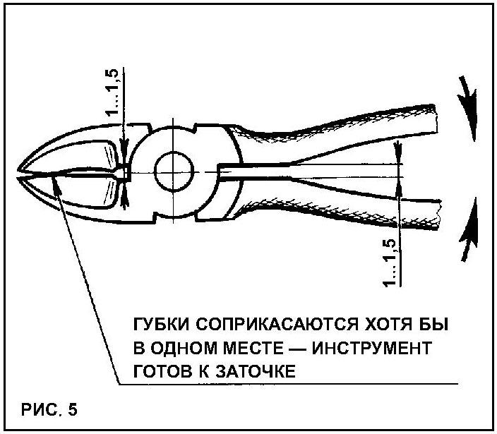 Как заточить кусачки своими руками 4
