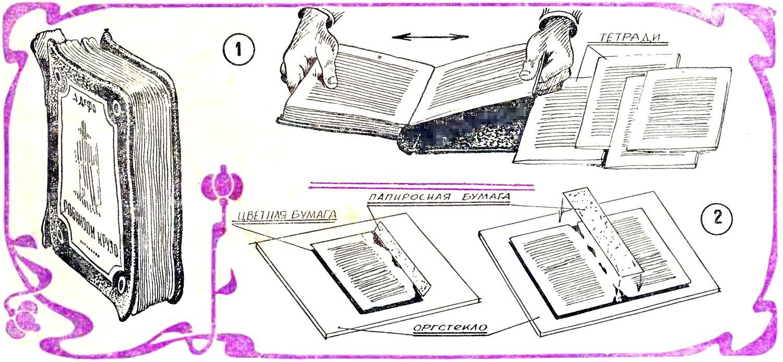 Как склеить книгу а4 своими руками