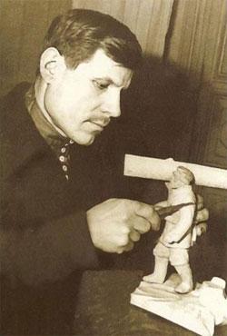 Скульптор-самоучка Иван Абаляев