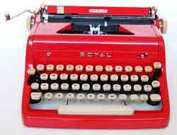 Чиним клавишу печатной машинки