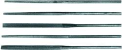 Работа трехгранным надфилем по сложной поверхности