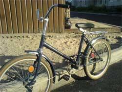 """Замена 16""""-й камеры велосипеда на камеру большего размера"""