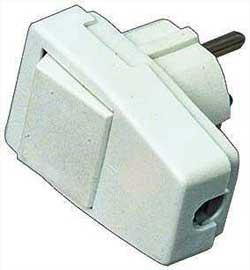 Выключатель прибора - в сетевой вилке
