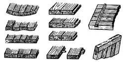 Изготовление щитов и некоторые названия соединений в мебельном деле