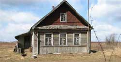 Облицовка старого дома