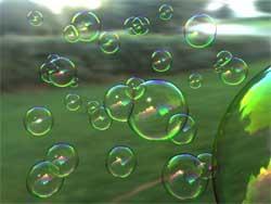 Охота за мыльными пузырями
