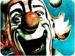 Клоун с колокольчиками