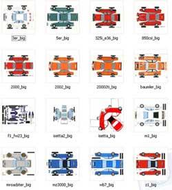 """Выпуск  """"16 бумажных моделей BMW """" рассылки  """"Самоделки и советы для любителей мастерить модели """" от 01 февраля 2011 года."""