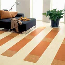 Укладка линолеума ковром