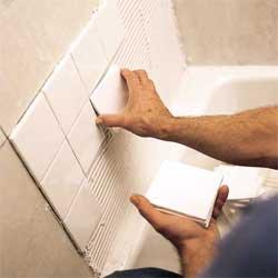 Облицовка стен керамическими плитками
