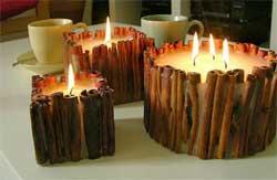 Изготовление свечей из воска