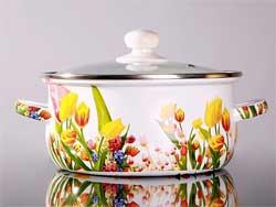 Приготовление замазки для исправления испорченных мест на эмалированной посуде
