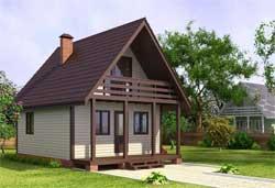 Как своими силами построить небольшой летний домик