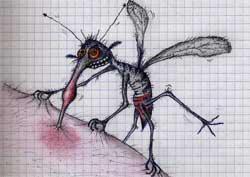 Схема прибора от комаров и прочего гнуса