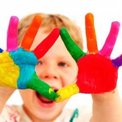 Как быстро очистить руки от масляной краски